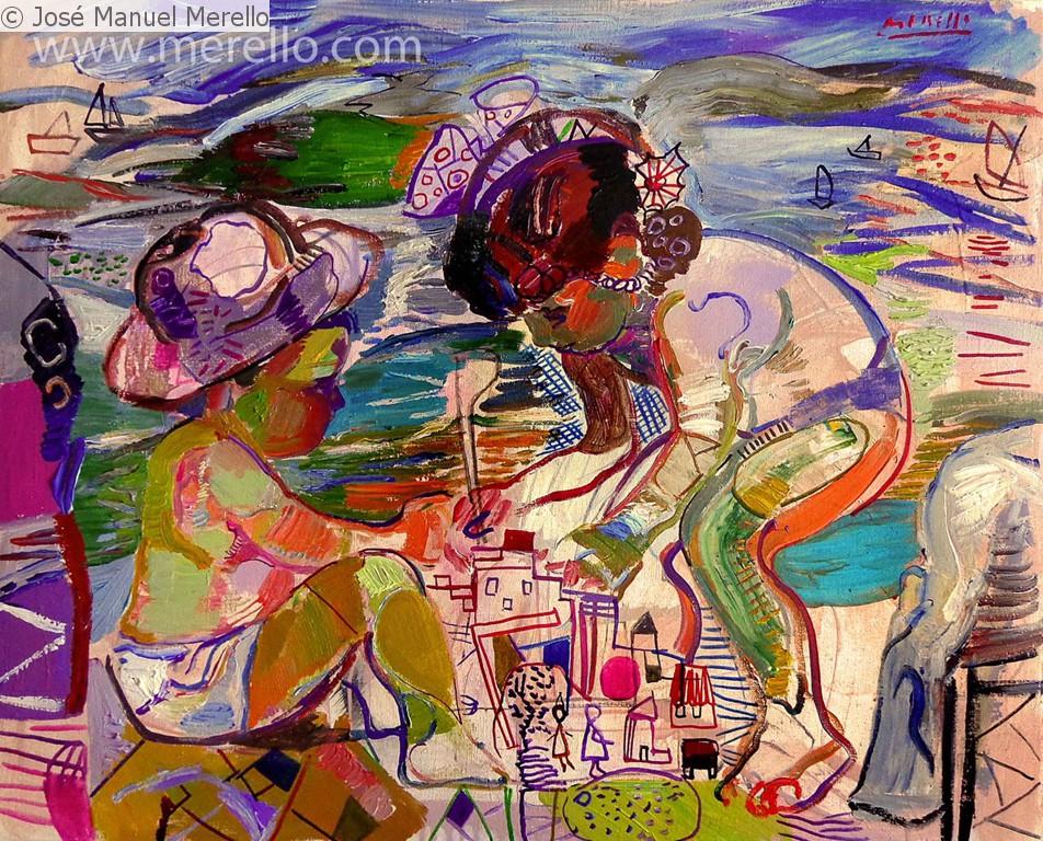 Moderne Kunstwerke moderne kunst malerei gëmalde der modernen kunst